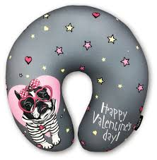 Купить <b>Подушка</b> для шеи <b>RATEL Happy Valentine's</b> Day (<b>подушка</b> ...