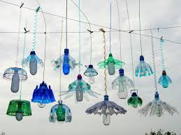a few of richterová s plastic chandeliers are curly included in the 50 artist exhibition eden unearthed at sydney s eden gardens through february 2018