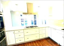 ceiling height wall cabinets kitchen high to white