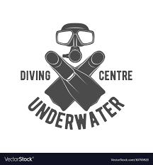 Scuba Diving Logo Design Diving Vintage Labels Logos And Design Elements