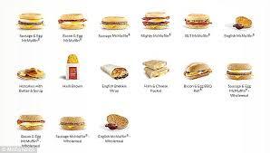 mcdonalds breakfast menu. Brilliant Menu An Ex McDonaldu0027s Employee Posed The Question Current Employees At AllDay  Breakfast  Inside Mcdonalds Breakfast Menu O