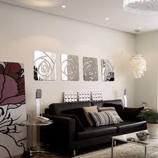 acrylic rose pattern wall art on 3d mirror wall art stickers with wallingshop online wall decal store for stickers canvas arts