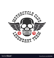 1979 Design Motorcycle Club Logo Legendary Team 1979 Design