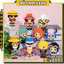 Lego One Piece - Đồ Chơi Xếp Hình One Piece Nano Block - Mô Hình Lắp Ráp One  Piece Đảo Hải Tặc