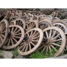 Antique Wild West Wagon Wheel - Free Shipping Today - Overstock.com -  19746991
