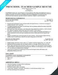 Sample Resume Teacher Assistant. Sample Resume For Teaching Job ...