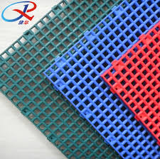 recycled and removed modular plastic grating flooring for outdoor and indoor