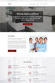 Kitchen Design Wordpress Theme Glide Home Bath And Kitchen Renovation Company Wordpress