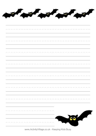 lined bat template halloween writing paper bats halloween  lined bat template halloween writing paper bats halloween