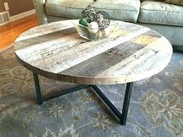 round coffee table base metal only glass iron co