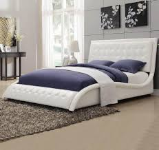white upholstered beds. White Upholstered Beds