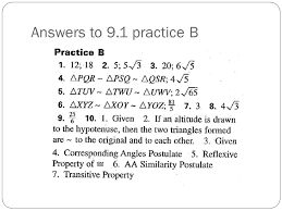 2 answers to 9 1 practice b