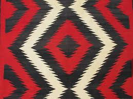 Image Meanings Handknotted 1920s American Antique Navajo Rug With Geometric Design In Red White And 1stdibs 1920s American Antique Navajo Rug With Geometric Design In Red