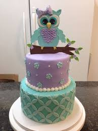 Elephant Polka Dot Birthday CakeOwl Baby Shower Cakes For A Girl