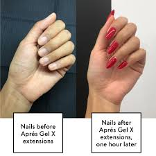 what s the difference between gel nail extensions and acrylics