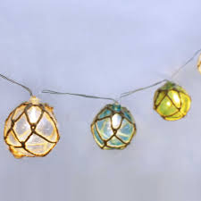 Manor Lane Outdoor Solar String Lights Manor Lane 10 Ft Jute Sphere String Lights Products