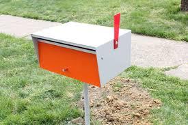 modern mailbox ideas. Exterior Awesome-modern-mailboxes-on-posts Modern Mailbox Post Design Ideas