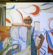 willem de kooning in his studio springs long island late october 1983