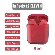 Aibey InPods 12 ELEVEN InPod I12 <b>TWS</b> Wireless Earbuds Airpod ...
