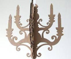 laser cut chandelier cardboard chandelier cut outs mini chandelier cardboard chandelier paper chandelier laser cut wood