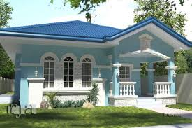 blue bungalow house plans with wrap around porch