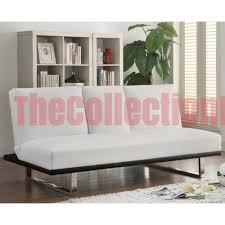 white futon sofa bed. June White Futon Sofa Bed E