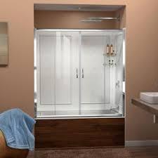 DreamLine Visions 60 in. x 60 in. Framed Sliding Tub/<b>Shower Door</b> ...
