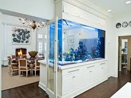 tank furniture. View In Gallery Huge Fish Tank Separating Dining Room From Kitchen Furniture T