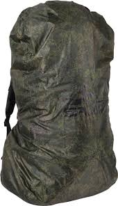 <b>Накидка на рюкзак Сплав</b> Цифровая флора, 5012037, зеленый ...