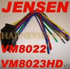 car audio and video wire harness for jensen jensen dvd screen wire harness plug vm8022 vm8023hd new