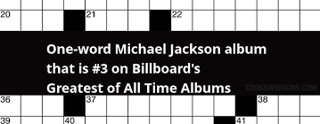 One Word Michael Jackson Album That Is 3 On Billboards Greatest Of