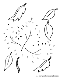 Owl Dot To Dot Coloring Pages Printable Coloring Page For Kids