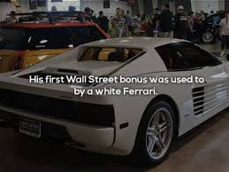 The ferrari weaves in and out of traffic. 17 Interesting Facts About Real Wolf Of Wall Street Jordan Belfort