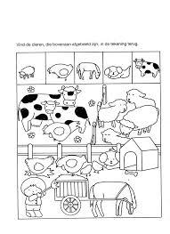 Boerderij Within Kleurplaat Dieren Kinderboerderij Kleurplaat Vor