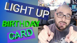 Diy Light Up Greeting Card Diy Light Up Birthday Card How To Make Greeting Cards Card Making Paper To Masterpiece