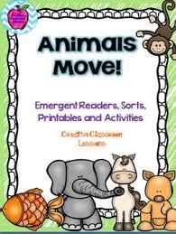 Wildlife Movement Chart Animal Movement Unit Animal Movement Science Activities