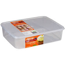 Tellfresh Cupcake Storer 4lt Oblong Clr 4 2663891reward Hospitality