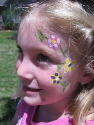 face painting flowers google search