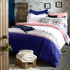 blue bedding sets refreshing royal blue and pink cotton bedding set 1 refreshing royal blue and