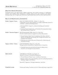 Drafting Resume Examples Draft Resume Example Drafting Examples Cad Socialum Co