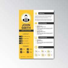 Resume Template. Resume Design Templates - Sample Resume Template