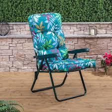 Classic Garden Recliner Cushion  AlfresiaLuxury Recliner Chair Cushions