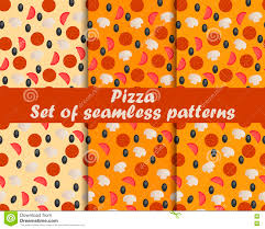 pizza pattern wallpaper. Perfect Pizza Download Pizza Set Of Seamless Patterns Ingredients For The Pattern  Wallpaper And Pizza
