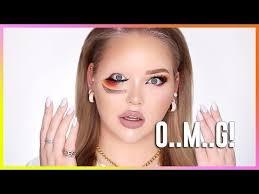 reversed upside down eye makeup tutorial