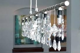 linear crystal chandelier glamorous crystal rectangular and linear pendant lights home linear