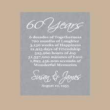 party 60 year anniversary diamond wedding anniversary gifts 60th anniversary parties
