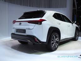 lexus ux 2018. with its 177-inch length \u2013 almost 104 inches of which is wheelbase it should be easier to maneuver in cities, too. indeed, lexus says the 2019 ux has a ux 2018
