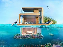 Inside Dubais  Million Floating Seahorse Homes Business - Bill gates interior house