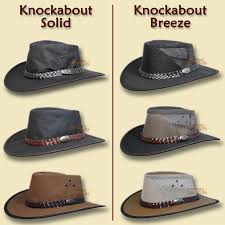 hat outback canvas cowboy indiana jones black leather mens womens