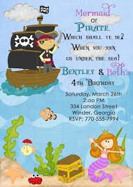 pirate and princess party invitations template home party ideas pirate and mermaid party invitations pirate party invitations printable printable pirate birthday